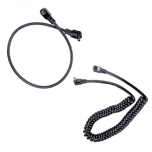 UN Male/Male Spiral or Coiled Synchro Cord 1.8m/6ft.